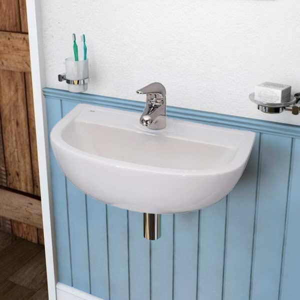 barclay compact wall hung basins