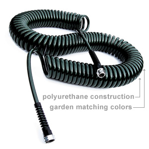 mini indoor garden hose sprayer with coil Coiled, Stretchable Garden Hoses, Accessories and More!