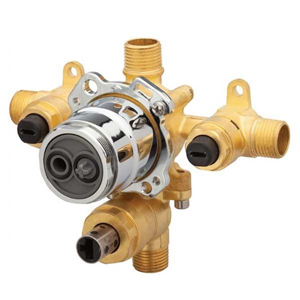 danze single control pressure balance mixing valve with diverter