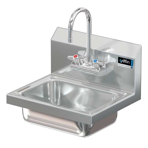 stainless steel hand wash sinks