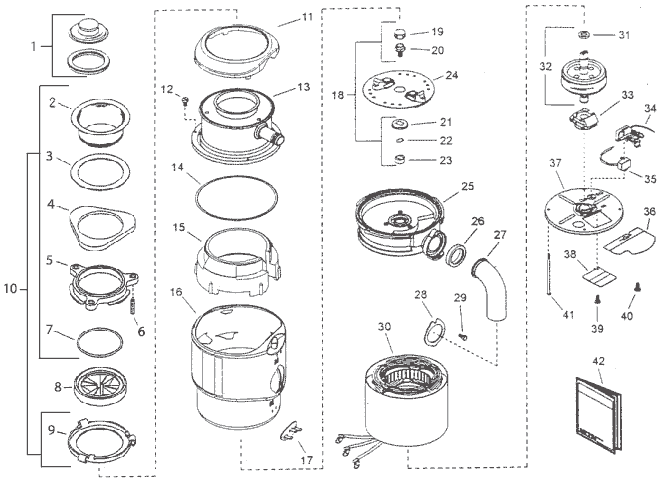 replacement parts for insinkerator