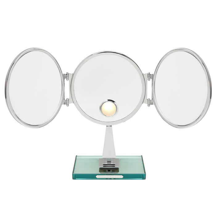 A three sided mirror by Miroir Brot