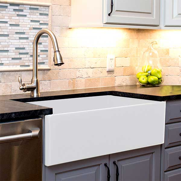 Durable Fireclay Kitchen Sinks By Nantucket