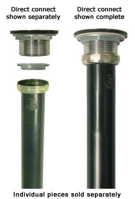 PVC and ABS ptraps and other tubular drain ponents