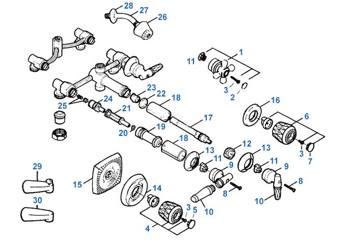 valley shower valve repair parts
