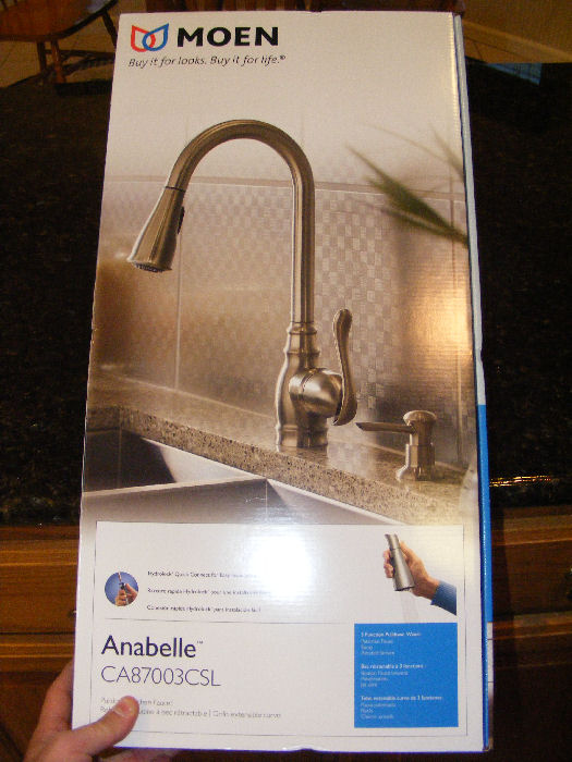 moen anabelle kitchen faucet review