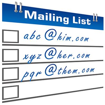 direct mailing list