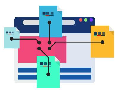 Online marketing centralization
