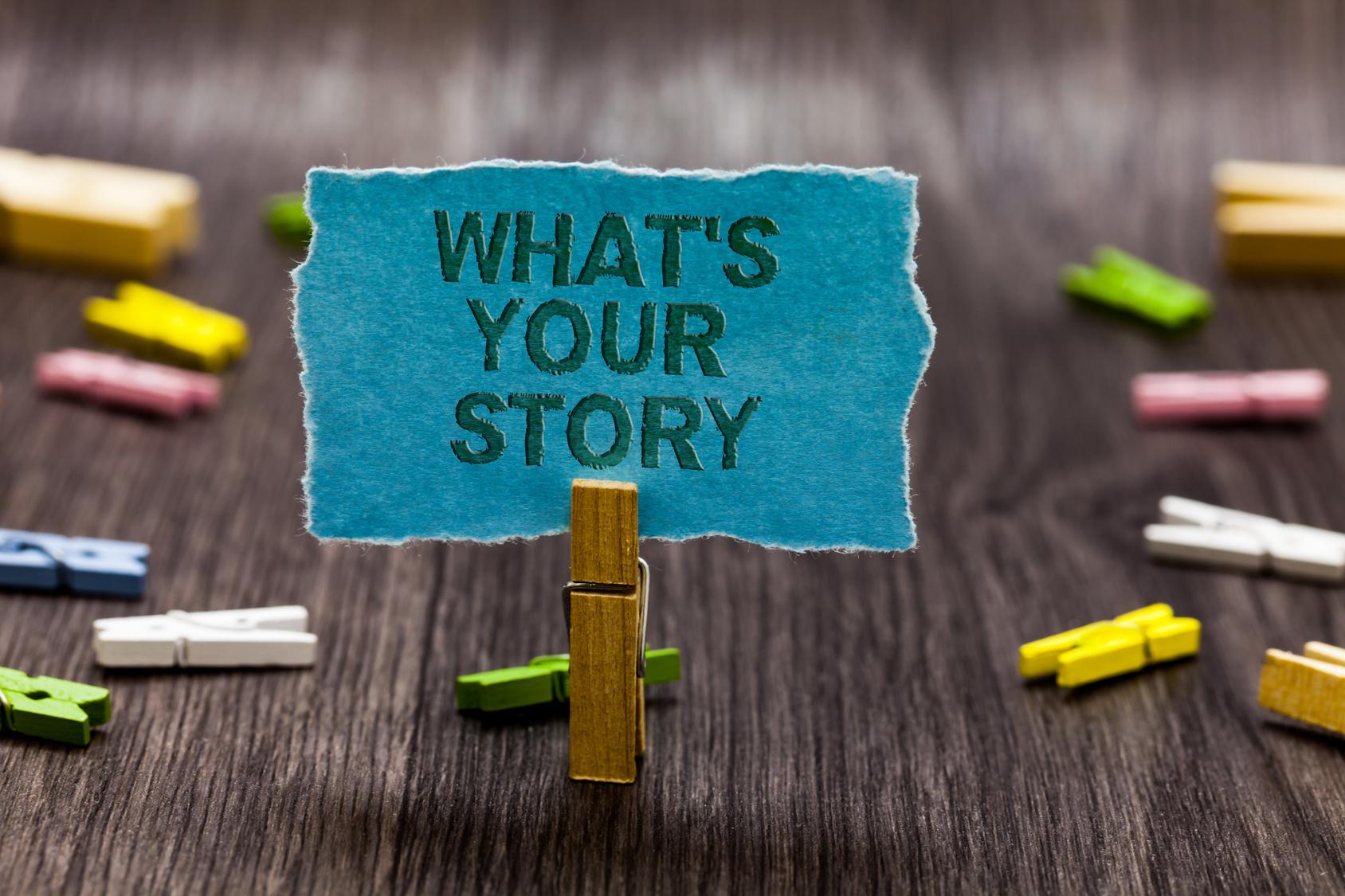 Story marketing