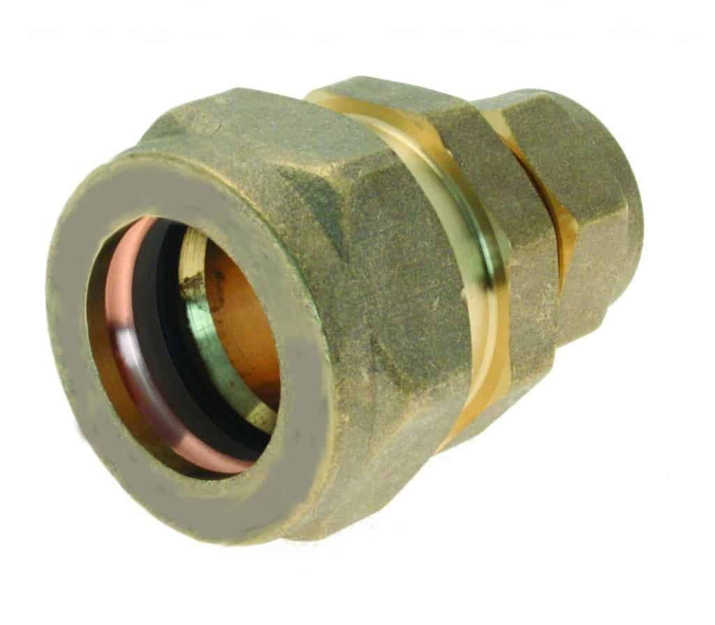 Brass Chrome Compression Fitting Plumbers Merchant