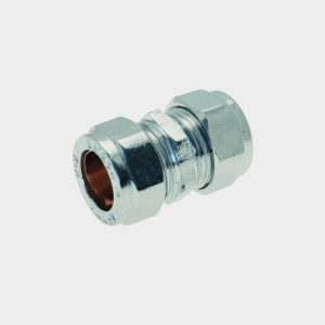 COMPRESSION CHROME PLATED COUPLER