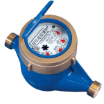 WATER METER - CLASS B - horizontal installation only - 1/2