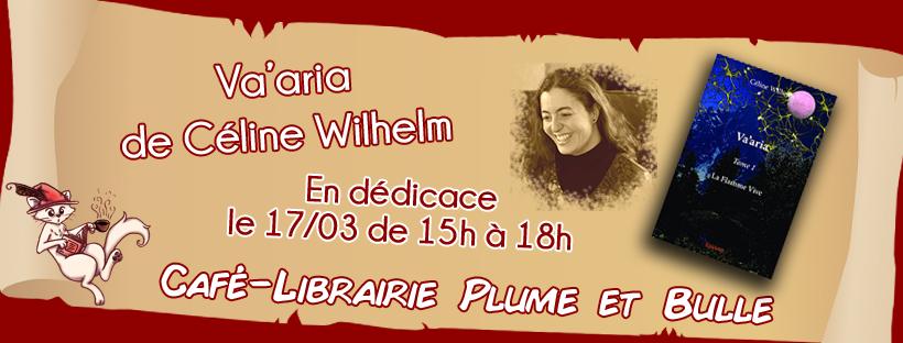 Rencontre/Dédicace avec Céline Wilhelm