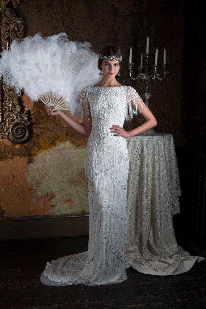 Robe de mariée Violet