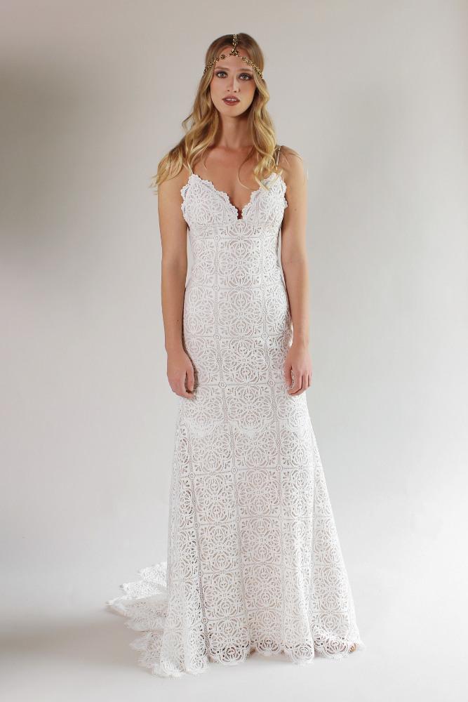 Robe de mariée Claire Pettibone Malibu