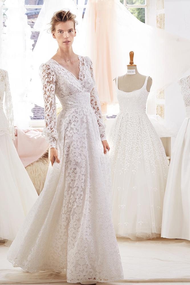 Robe de mari e atelier emelia alicante chez plume paris for Robes formelles pour 50e anniversaire de mariage