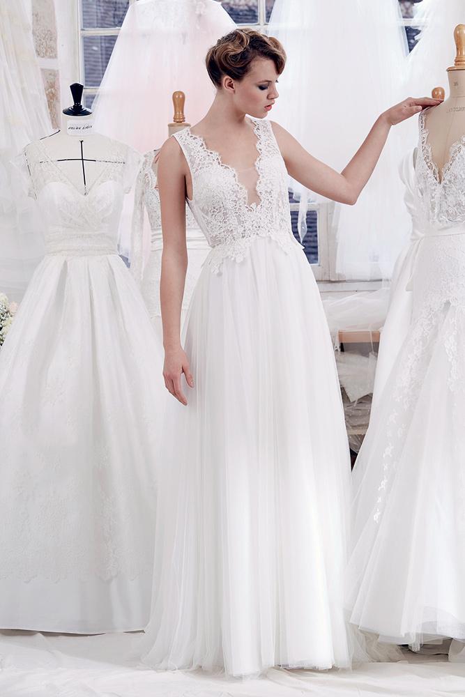 Robe de mariée Atelier Emelia Aveline