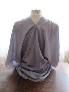kimono gris à nouer 3
