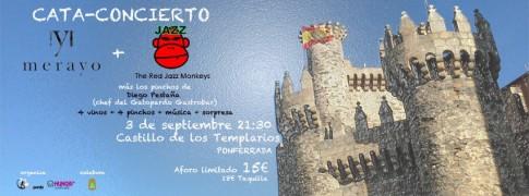 Mencia Jazz 2014 Cata Concierto Castillo Ponferrada