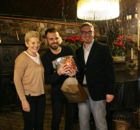 Imagen de la entrega de premios de la décima Ciberbotillada