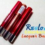 Revlon Colorburst Lacquer Balms Review