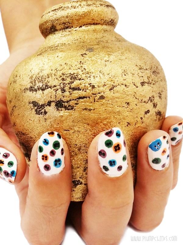 Nail Art Buttons 1