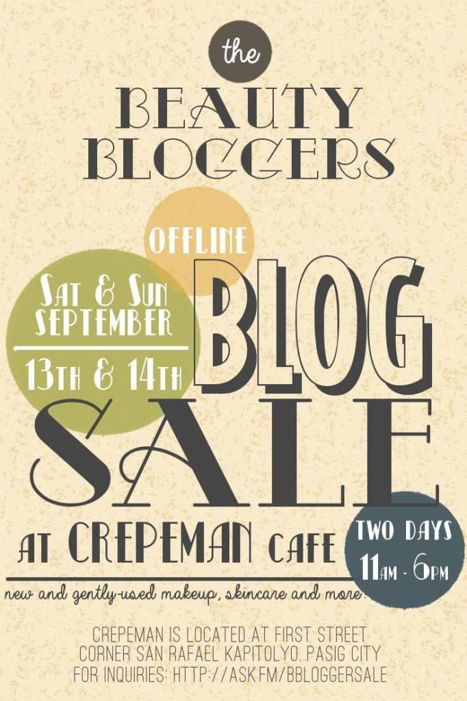 Offline Blog Sale