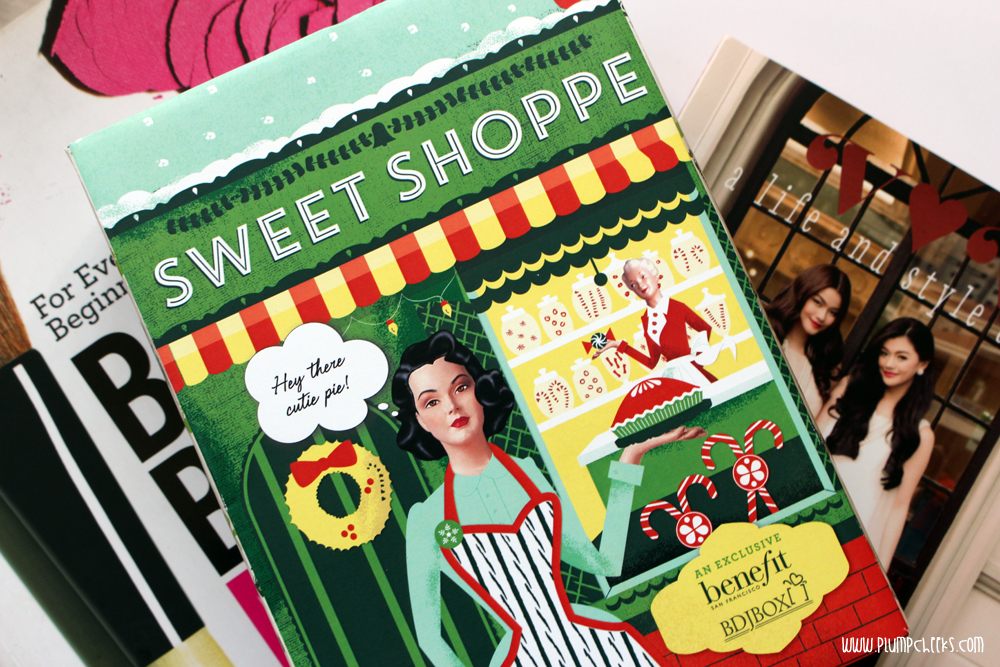 BDJ Box for November 2014 Unboxing: Sweet Shoppe!