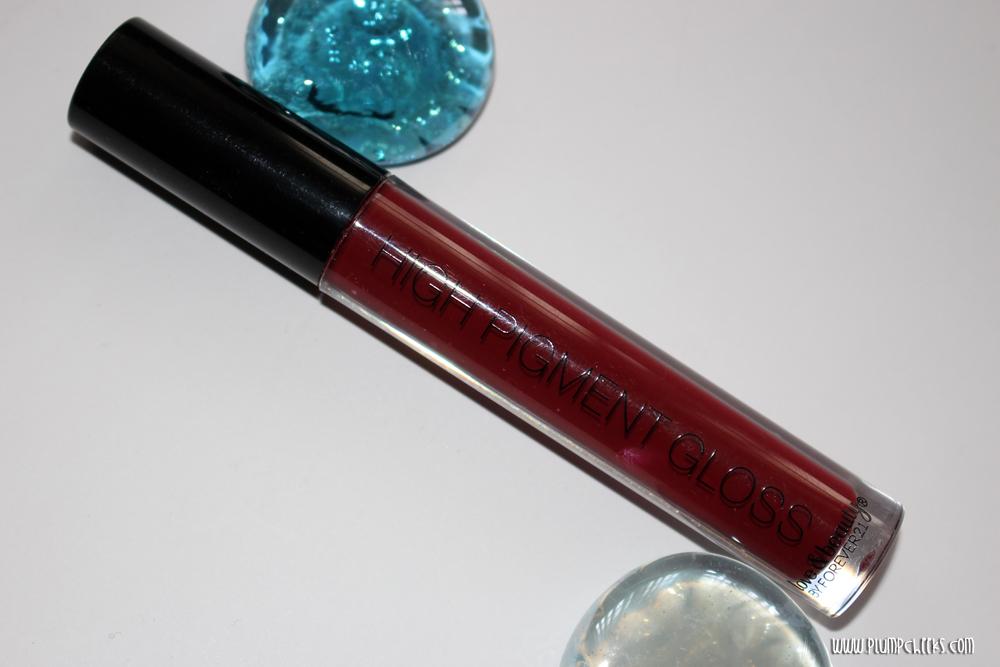 Forever21 Lip Gloss in Burgundy  2