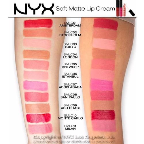 Soft Matte Lip Creams