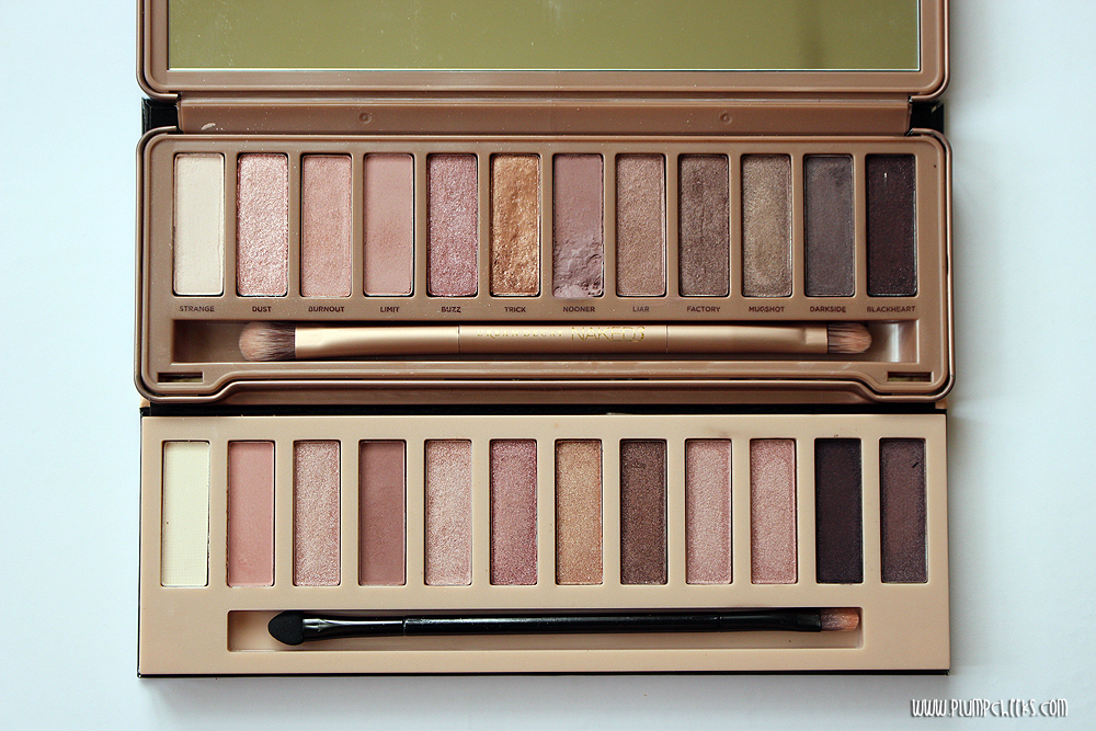 LA Girl Eyeshadow Collection NUDES versus Urban Decay Naked 3 (5)