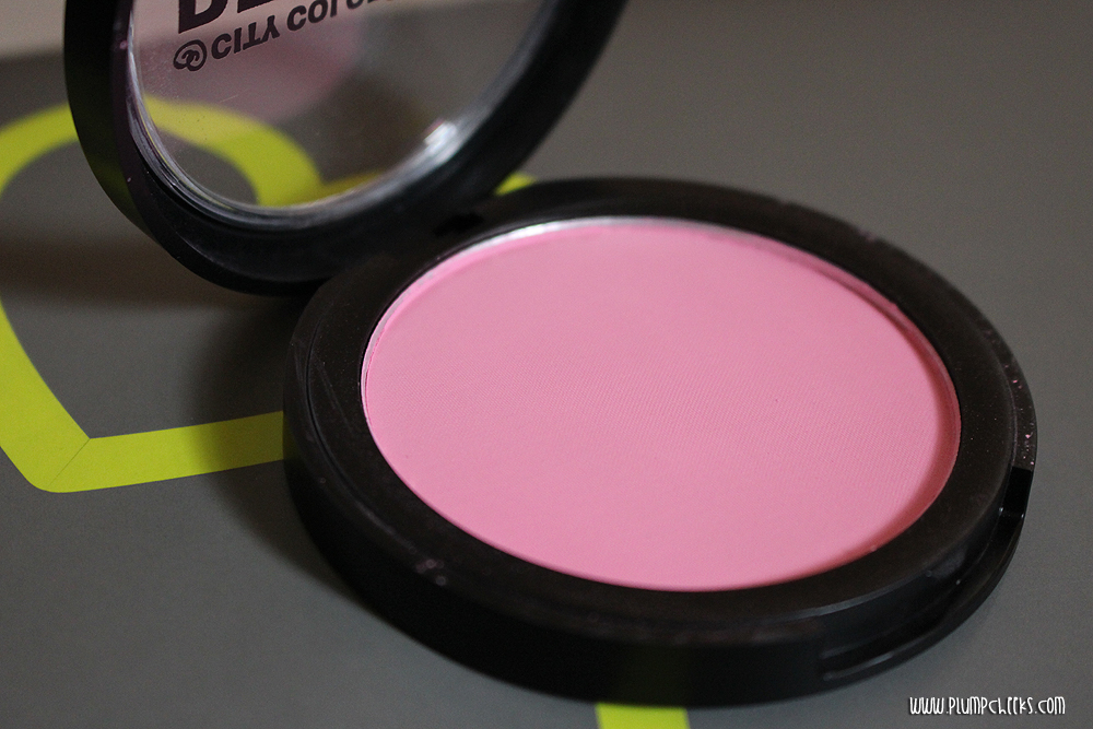 City Color BE MATTE Blush in Pink Grapefruit