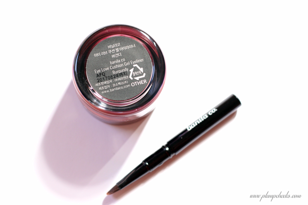 Banila Co Burgundy Eyeliner (6)