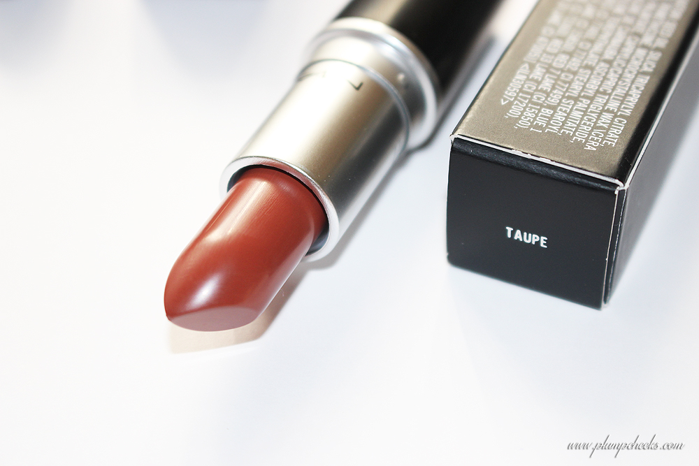 MAC Matte Lipstick in Taupe (2)