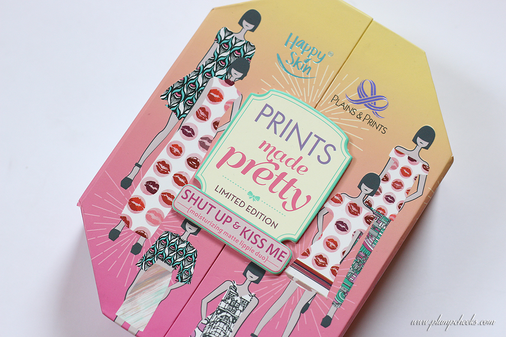 Happy Skin Cosmetics Shut Up & Kiss Me Moisturizing Matte Lippie Prints Made Easy