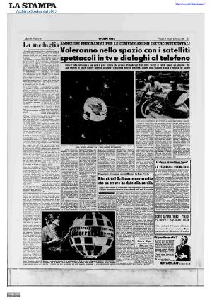 Visualizza Stampa Sera  20-21 ottobre 1961 (Archivio storico La Stampa - Editrice La Stampa S.p.A.)  http://goo.gl/r7KhuQ
