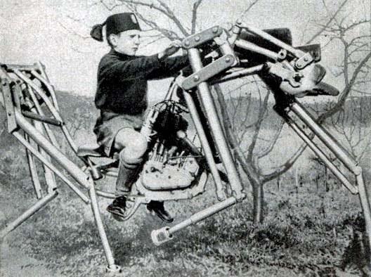 cavallo meccanico alzetta