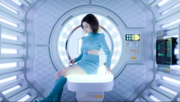 Una sequenza del primo episodio della quarta stagione di Black Mirror.