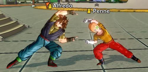 Alfredo & Penne: Dragon Ball XenoVerse