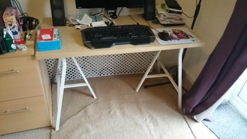 Old Desk Setup