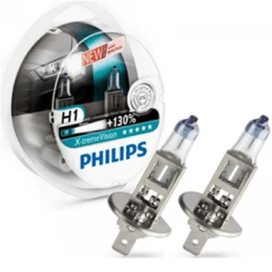 12258XVS2 – PHILIPS X-Treme Vision H1 +130% 12V 55W set