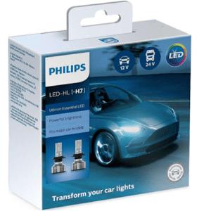 11972UE2X2 – Philips H7 Ultinon Essential LED 12V / 24V 20W 2τμχ