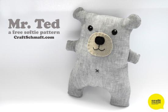 Valentine Teddy Bears DIY Plushie Patterns