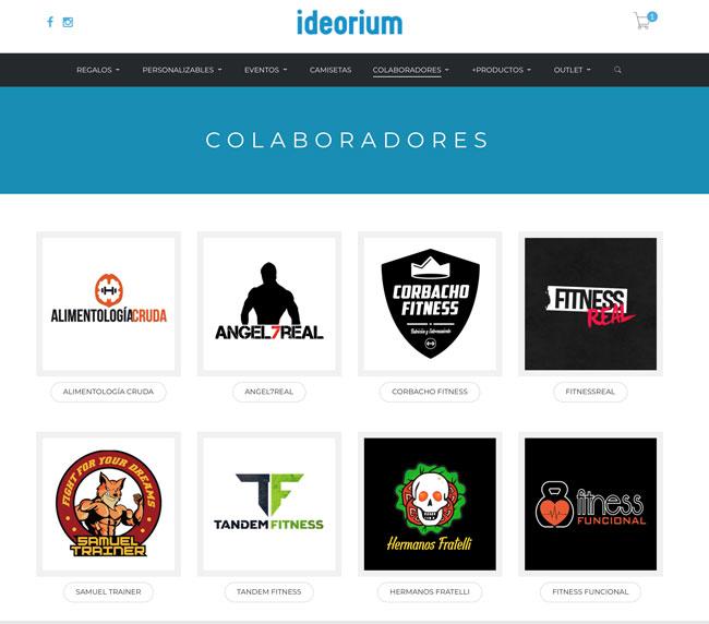 Tienda online Ideorium