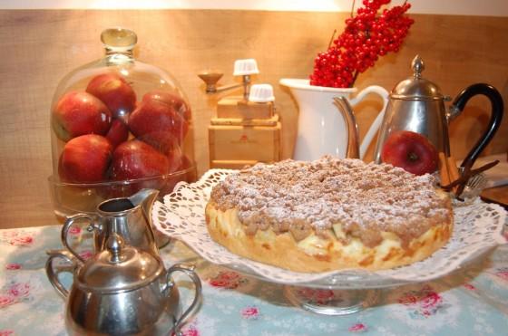 Apfelkuchen in seiner vollen Pracht