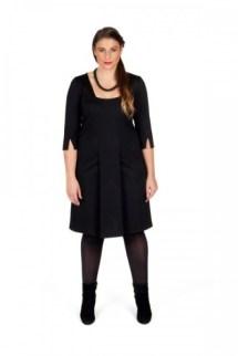 Plus-Size-Kleid mit interessanter Ärmellösungq