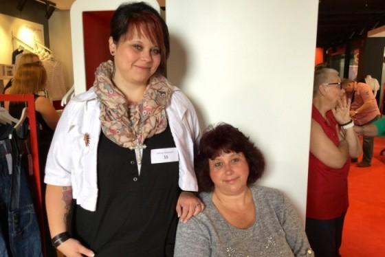 Mutter und Tochter I Extra für das Plus-Size-Model-Casting aus Nordrhein-Westfalen angereist I PlusPerfekt.de