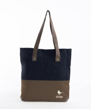 Kontraststarke Tote Bag von Esperos