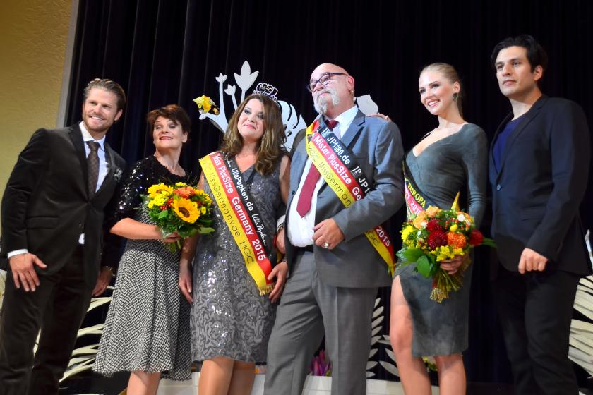 Wahl von Miss & Mister Plus Size Germany in den Mozartsälen, Hamburg