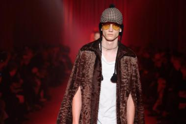 Fashion Week Mailand Herbst-Winter 2016-2017 I Kollektion Gucci Men Foto: Gucci